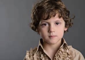 brown curly hair - boys picture 3