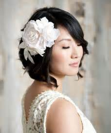 bridal hair styles for short picture 3