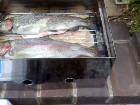 how to smoke trout picture 2