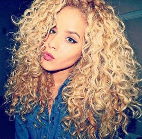 curly hair blonde picture 13