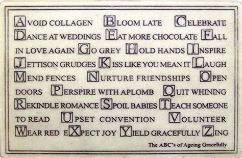abc's of aging gracefully picture 1