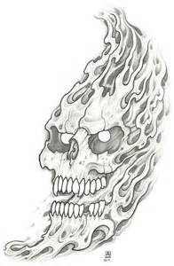 tattoos with smoke and skulls picture 6