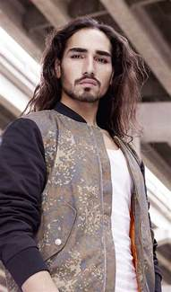 male models with long hair picture 1