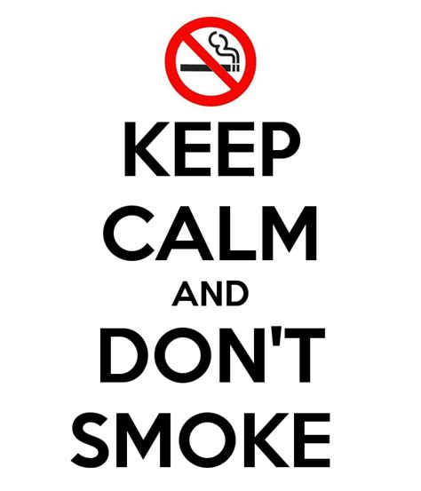 don't smoke picture 1
