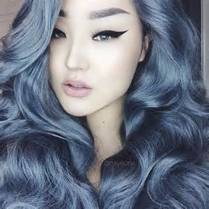 blue dye for gray hair picture 2