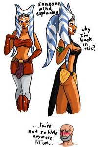 ahsoka breast expansion fanfiction picture 2