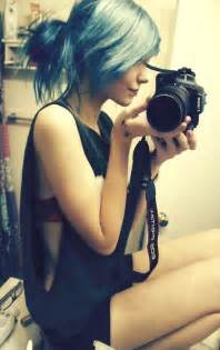 camera girl hair picture 13