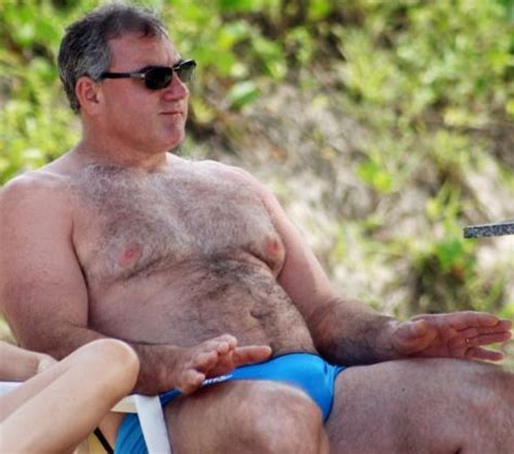 chunky hairy men with bulges picture 1