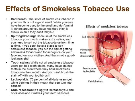 effects to health chewing tobacco picture 5