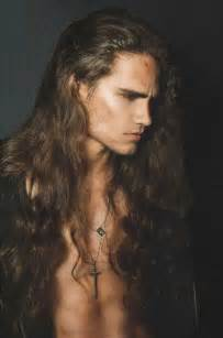 male models with long hair picture 5