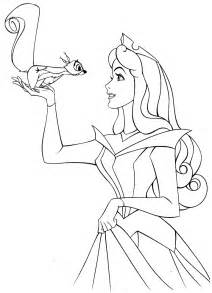 coloring pages disney princess sleeping beauty picture 7