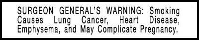 surgeon general warning on smoking 2013 picture 1