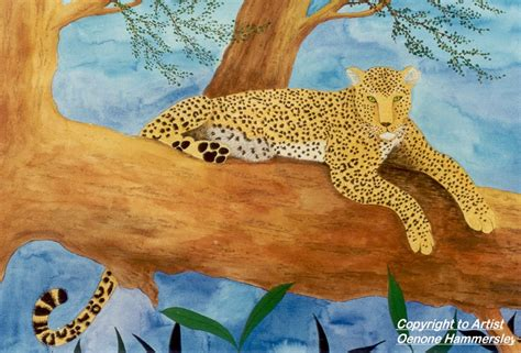 cheetah sleeping in a tree picture 15