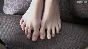 long toes foot models picture 1
