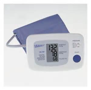 Lifesource blood pressure monitor picture 2