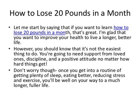 i want to lose 30lb in one month picture 1