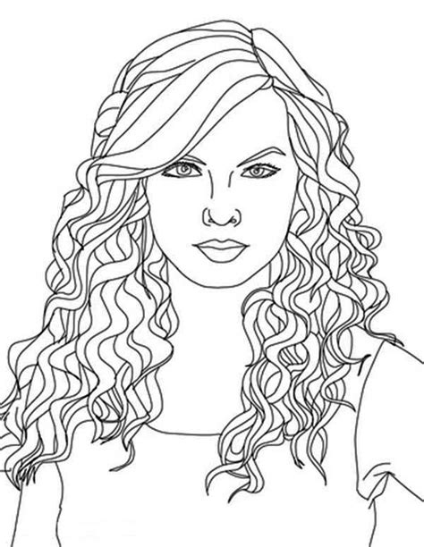coloring pages on hair picture 2