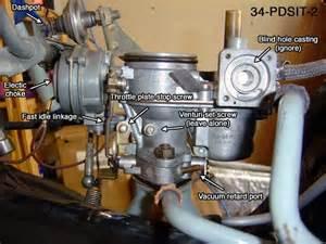 adjusting solex pdsit-2/3 carbs picture 1