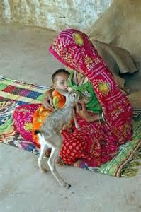 woman breastfeeds deer picture 14