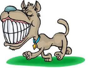 cartoon dog teeth picture 2