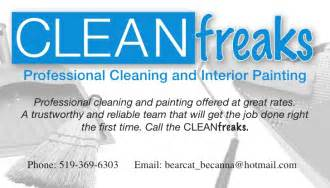 examples of business cards for home cleaning picture 2