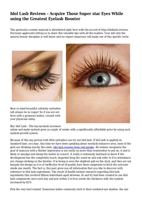 idol lash reviews picture 5