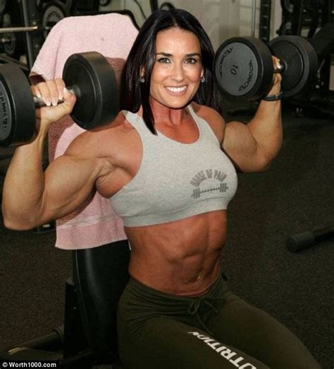 women celebrity muscle morphs picture 3