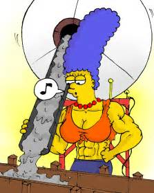 marge simpson extreme breast growth picture 13