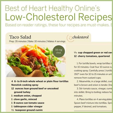 Cholesterol lower recipe picture 1