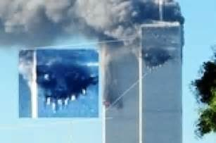 twin towers demons in smoke picture 1