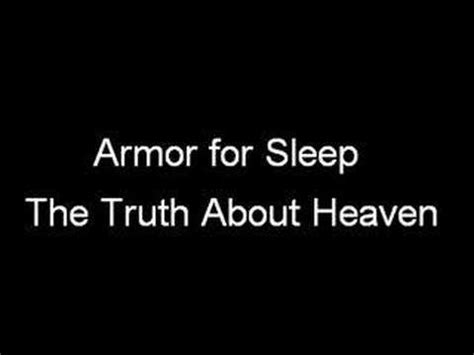 armor for sleep the truth about heaven picture 1