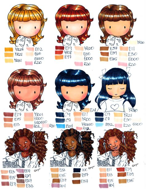hair colors and skin tones picture 3