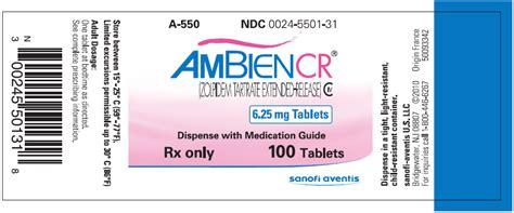 ambien prescription drug picture 2