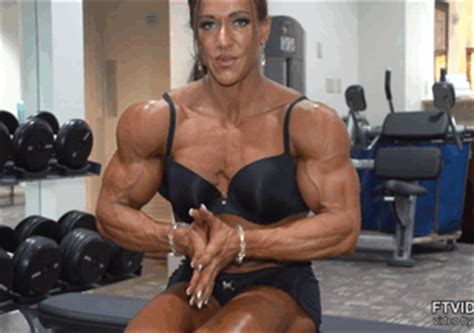 female muscle gif picture 3