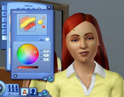 sims 3 acne skin picture 7