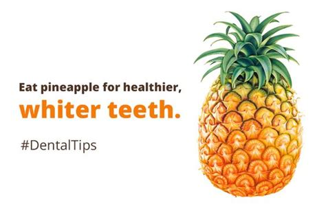 whiten teeth with pineapple picture 2