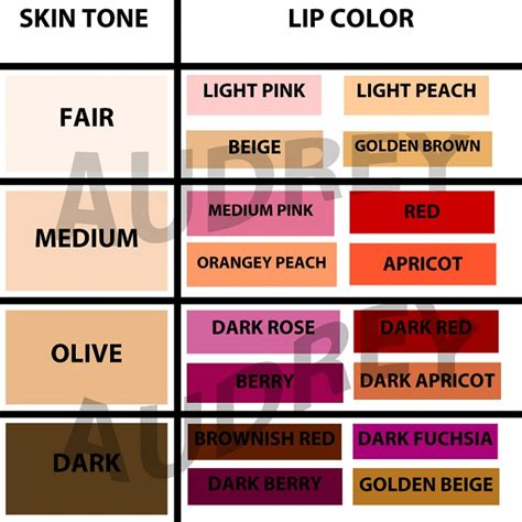 colors for skin tones picture 6