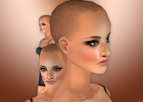 female bald head shave picture 9