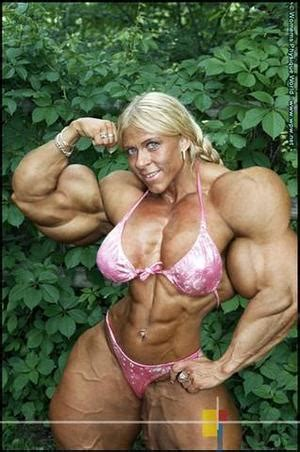 female muscle morphs on my space picture 3