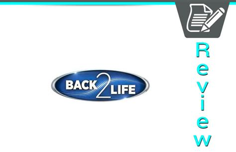 back 2 life infomercial reviews picture 2