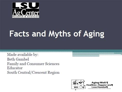 studies on aging myths picture 6