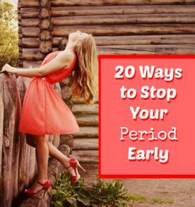 stop your period with herbs picture 9
