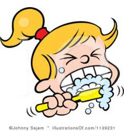 brushing teeth clipart picture 7
