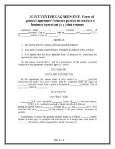 free joint venture contract picture 6