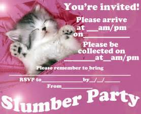 free printable sleepover party invitation picture 5