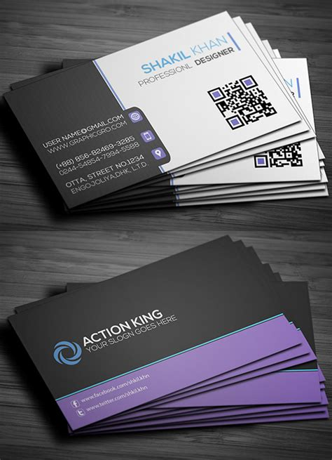 free online business card templates and photos picture 15