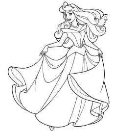 coloring pages sleeping beauty picture 1