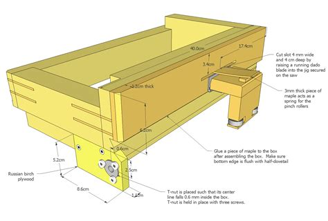 advanced box joint jig plans picture 2