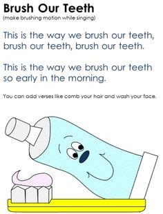 rhymes for healthy teeth picture 11