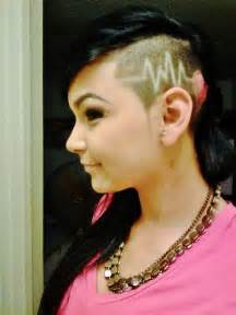 barber shop heads shaved women picture 13